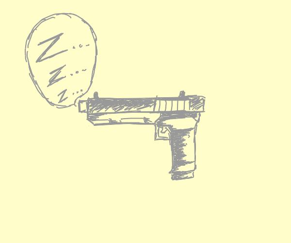 Sleeping pistol