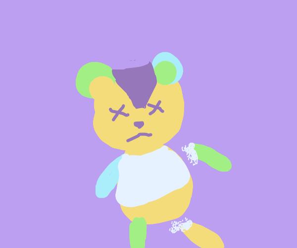 Ripped up Teddy Bear