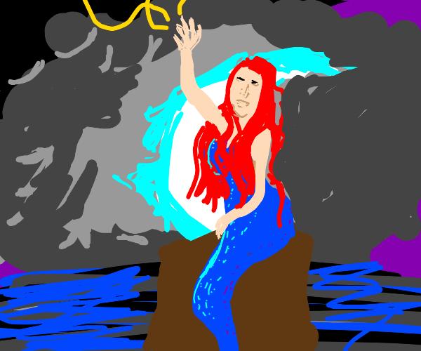 very sexy mermaid