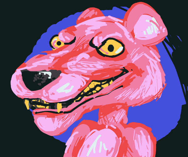 Realistic Pink Panther