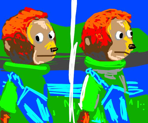 The awkward monkey meme