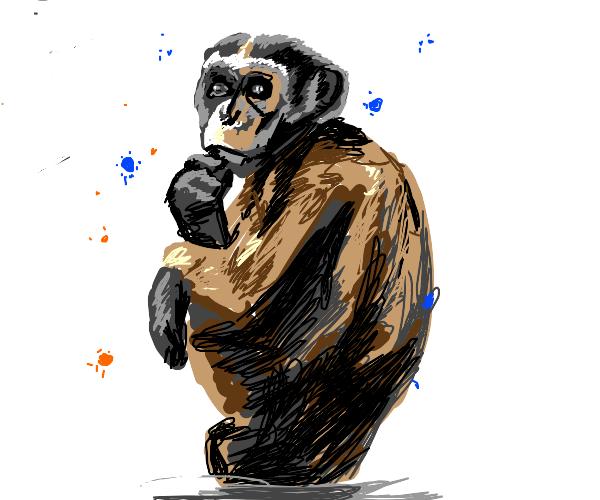 Naked monkey