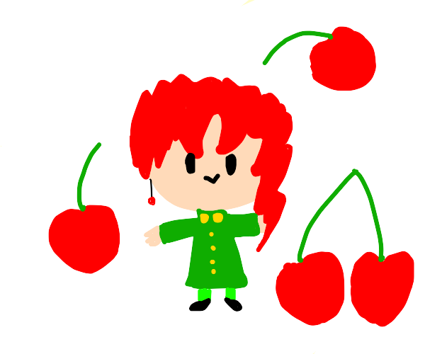 Noriaki Kakyoin (baby boi from jojo)
