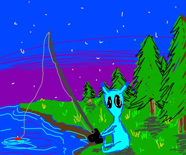 alien fishing