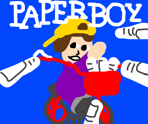 Paper boy for the NES