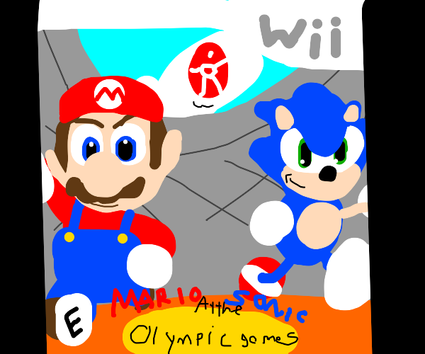 mario and sonic at the olympic games for wii