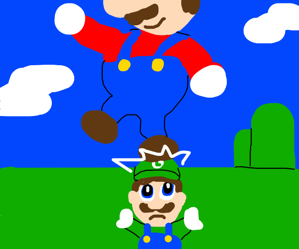 Mario killed his brother