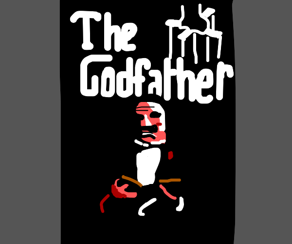 Godfather, the poster.