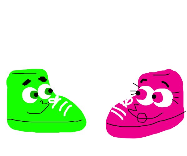 Cosmo and Wanda as Shoes