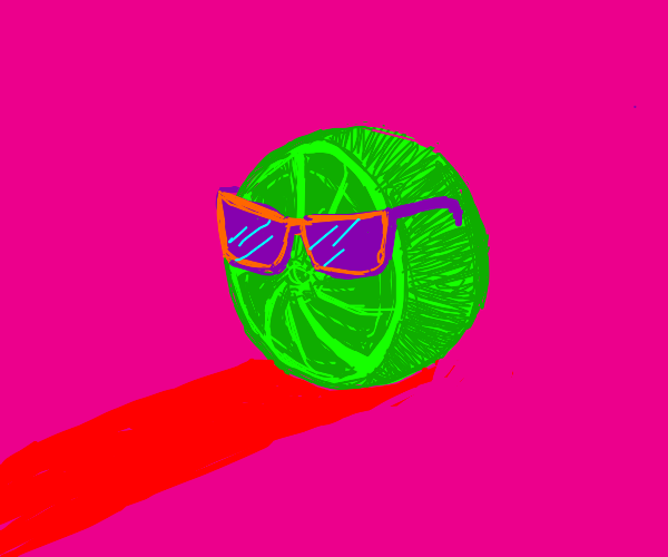 Lime with shades