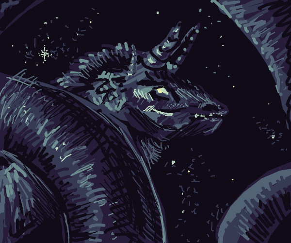 Night Dragon is the Protector of the Sky