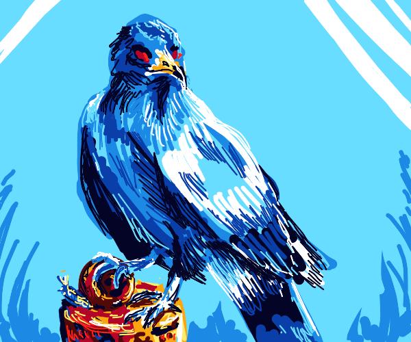 bird on a fencepost