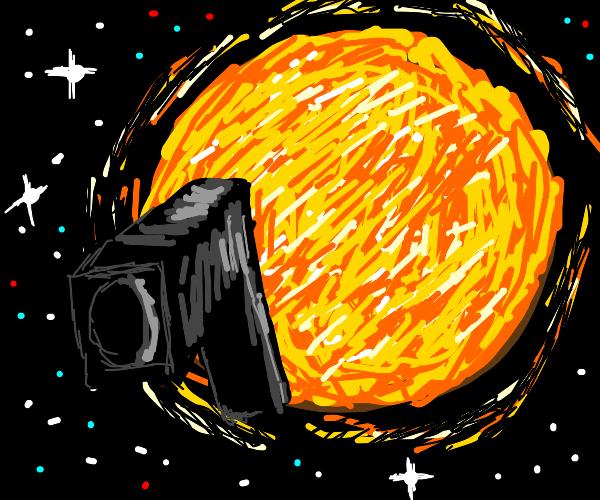 THE SUN HAS A GUN!