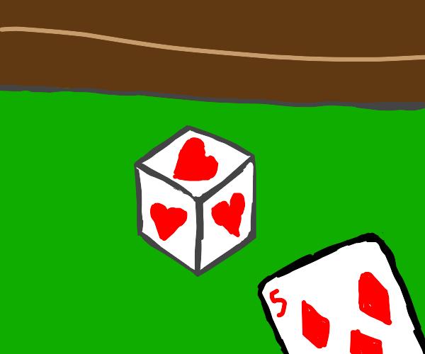 Cube of hearts