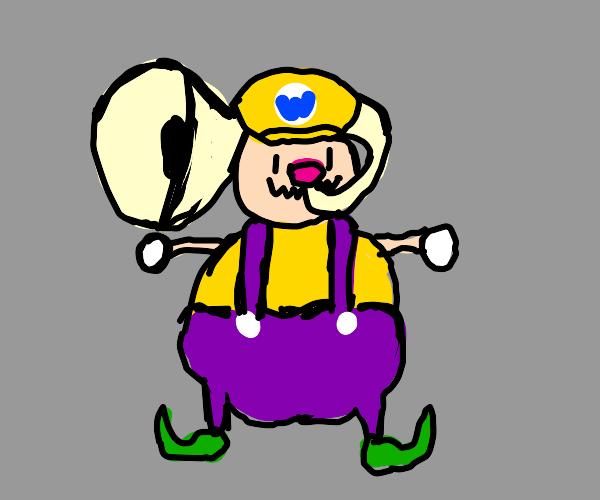 Old Wario plays tuba