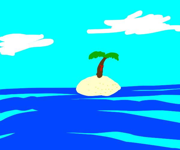 Island tie.