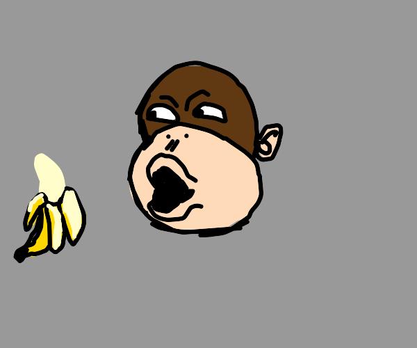 monke pog banana