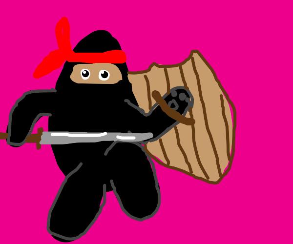 Ninja/Bear/Knight Monstrosity