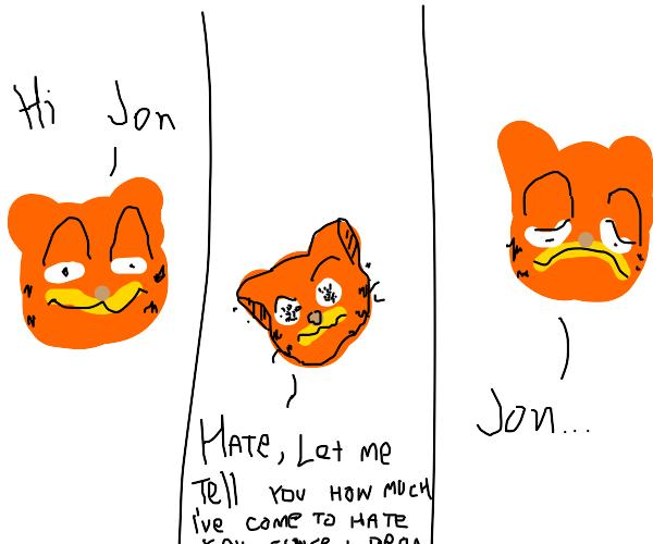 Your Own Garfield Comic Strip Drawception