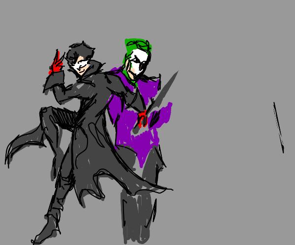 Joker (Persona 5) and Joker (DC Comics)