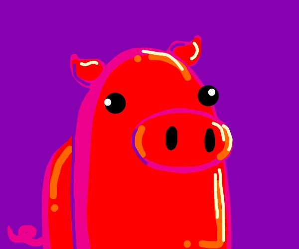 A sus Pig