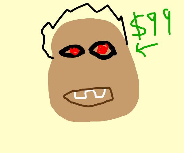 someones head worth $99 - red eyes