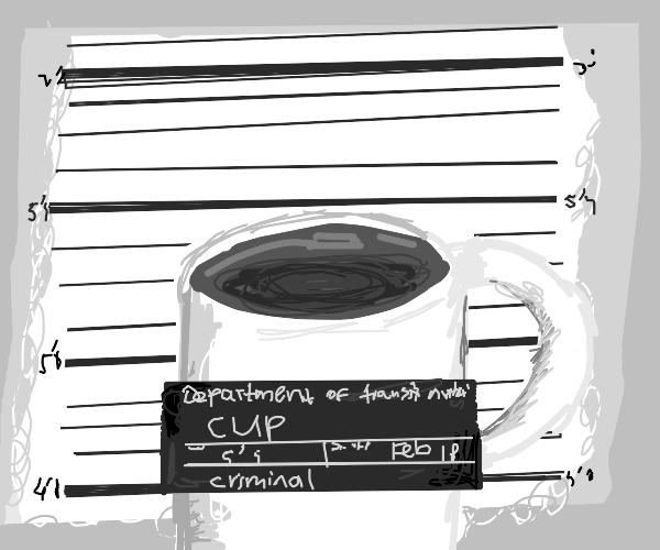 Cup commited a crime