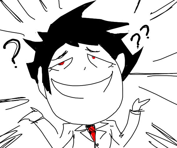 smiling derpy anime boy (Tamaki???)