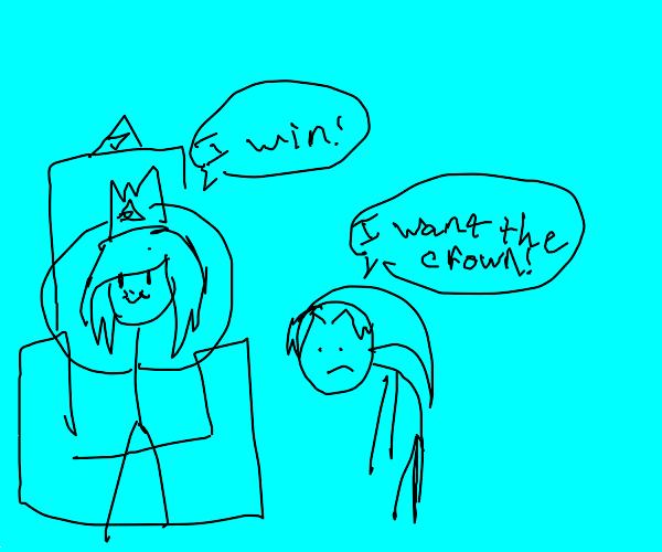 link vs zelda! battle for the throne!
