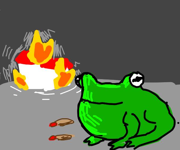 arson frog