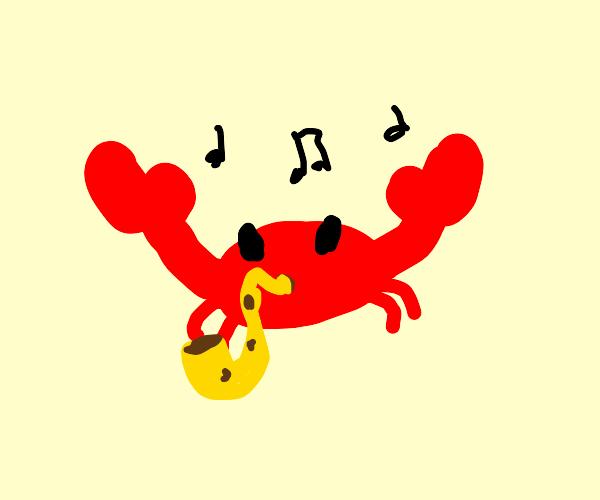 musical crab