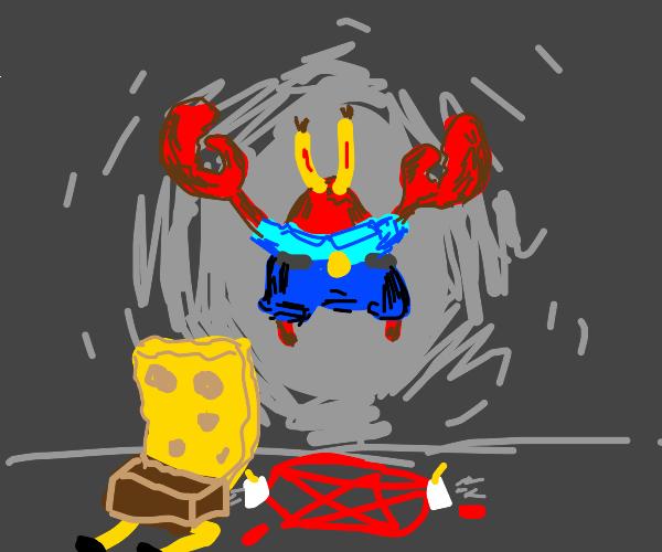 mr krabz is summoned