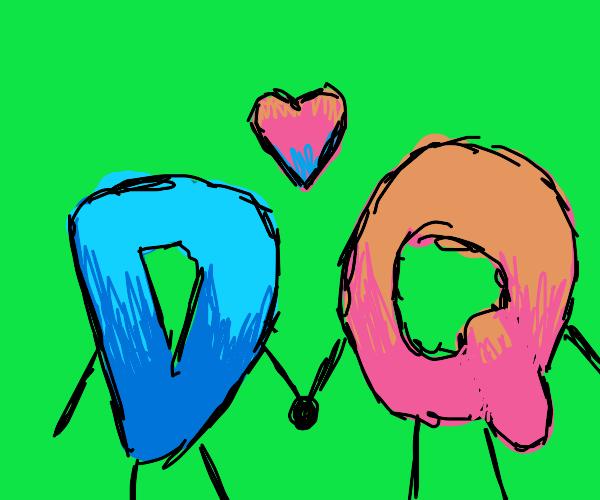 Drawception D found love