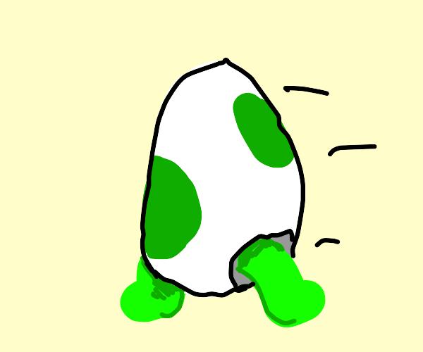 Walking Yoshi Egg