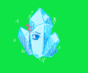 angry one eyed crystal