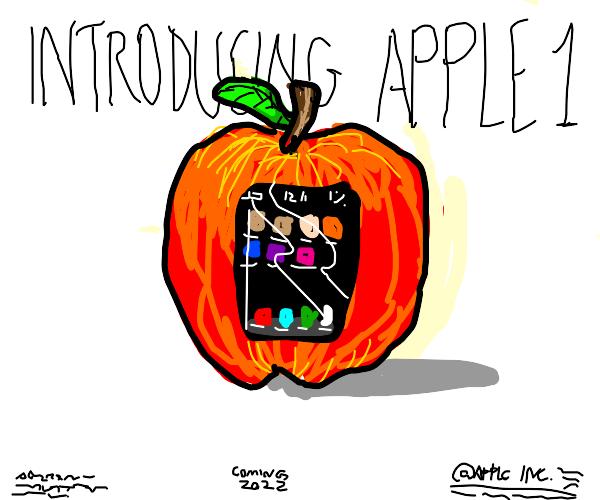 Literal apple phone
