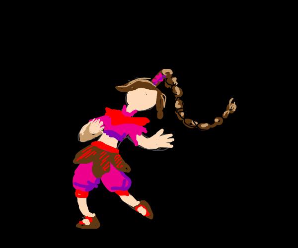 Ty Lee (Avatar) doing smug hat kid dance