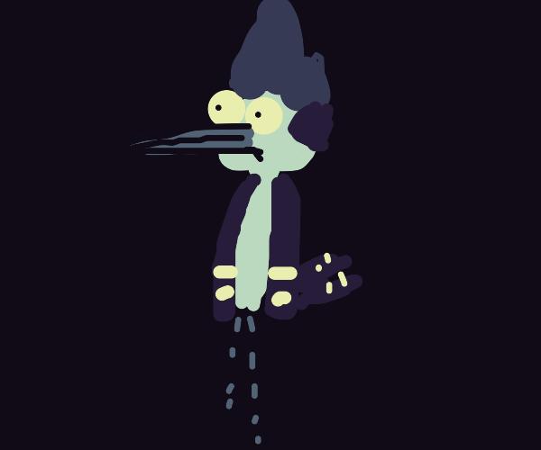 Sad Mordecai