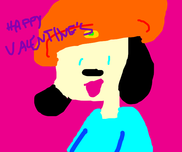 PaRappa wishes you a happy Valentines day