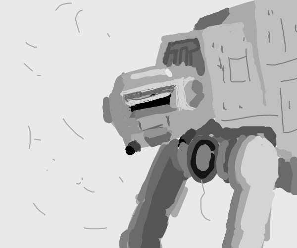 AT-AT doesn't faze a giant