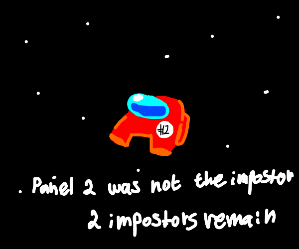 Panel 2 was not an Imposter.
