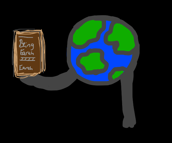 The earth itself publishes an autobiography