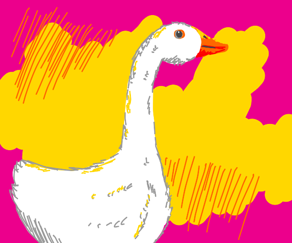 Untitled Goose Drawing