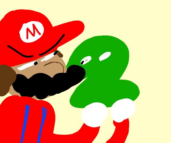 Mario has two