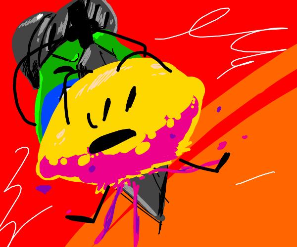 pear knight killing lemon