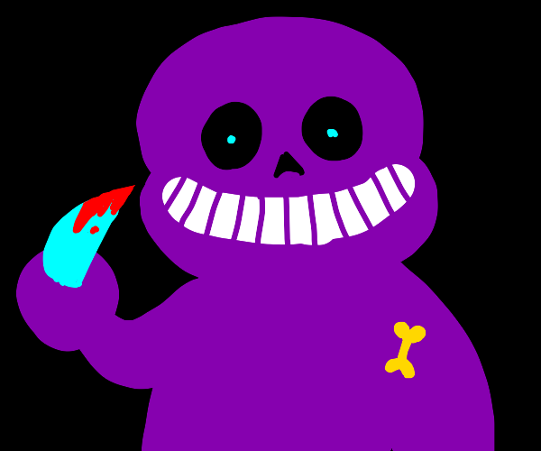 the sans behind the slaughter (im sorry)