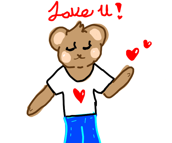 Furry in love