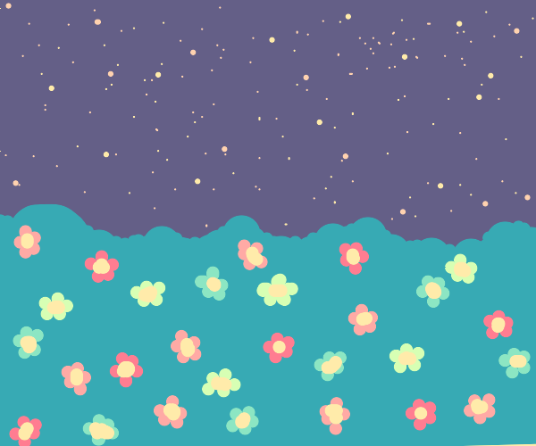 Garden of only Flowers