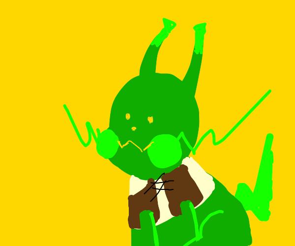 Pikachu shrek