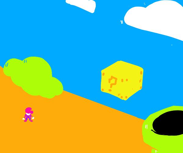 Mario on level 1